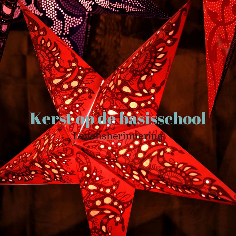 Levensherinnering | Kerst op de basisschool