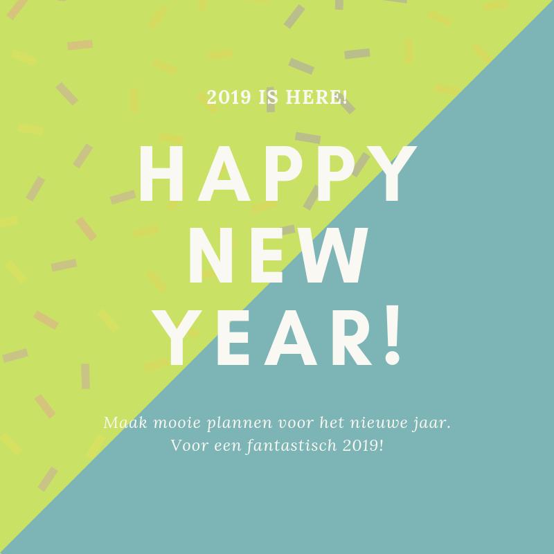 Voor een fantastisch 2019!