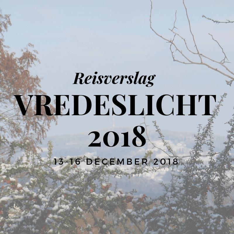 Vredeslicht: Reisverslag naar Linz