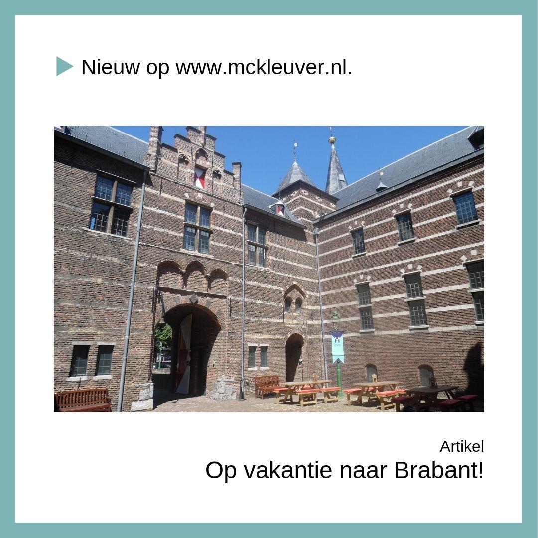 Uitdaging | Op vakantie naar Brabant!