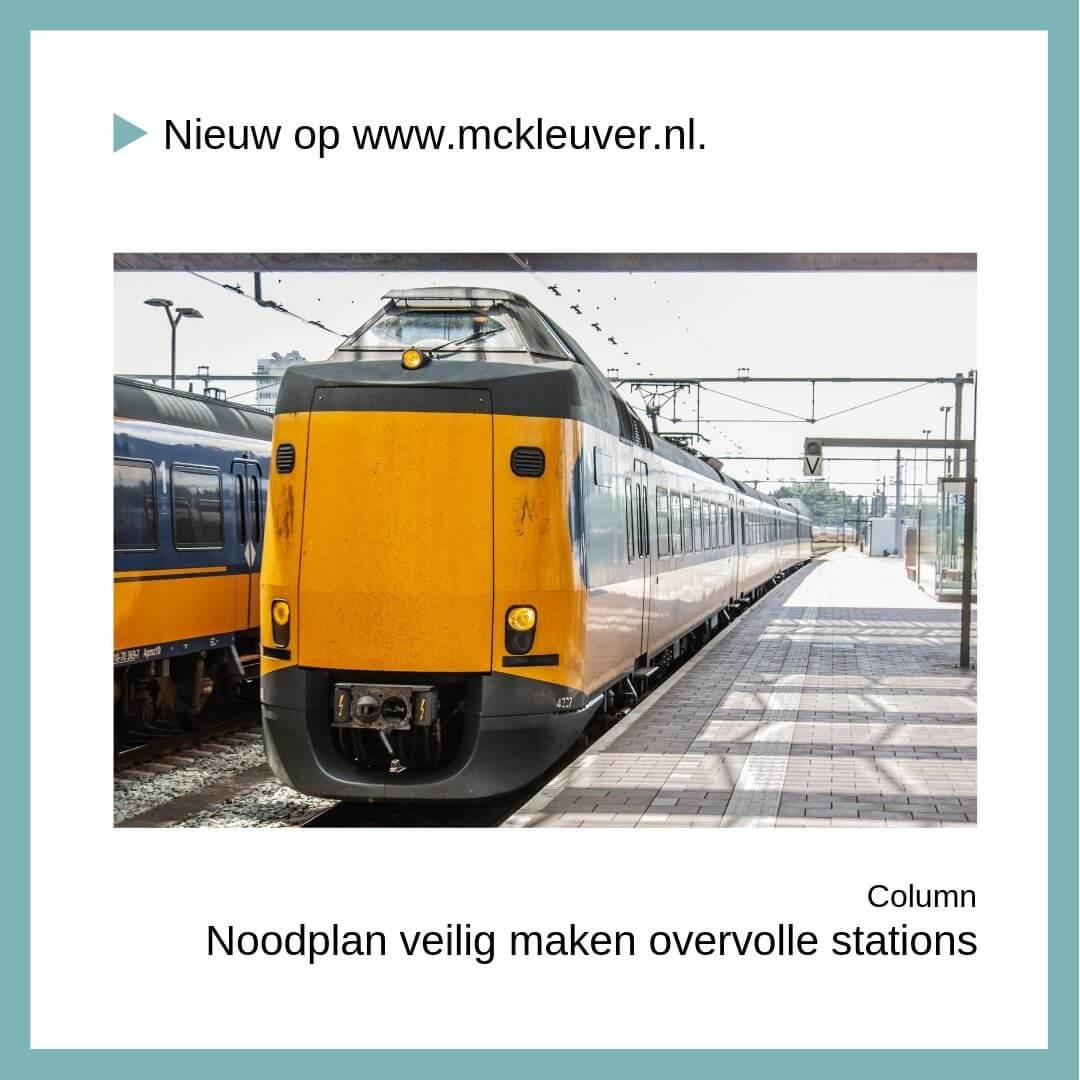 Topdrukte | Noodplan veilig maken overvolle stations