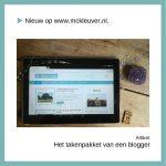 Het takenpakket van een blogger