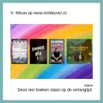 Vier boeken die staan op de verlanglijst