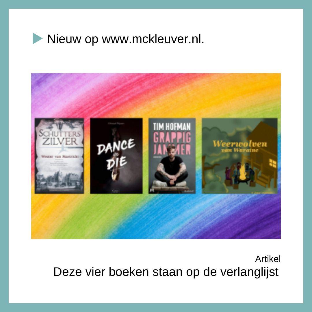 Deze vier boeken staan op de verlanglijst
