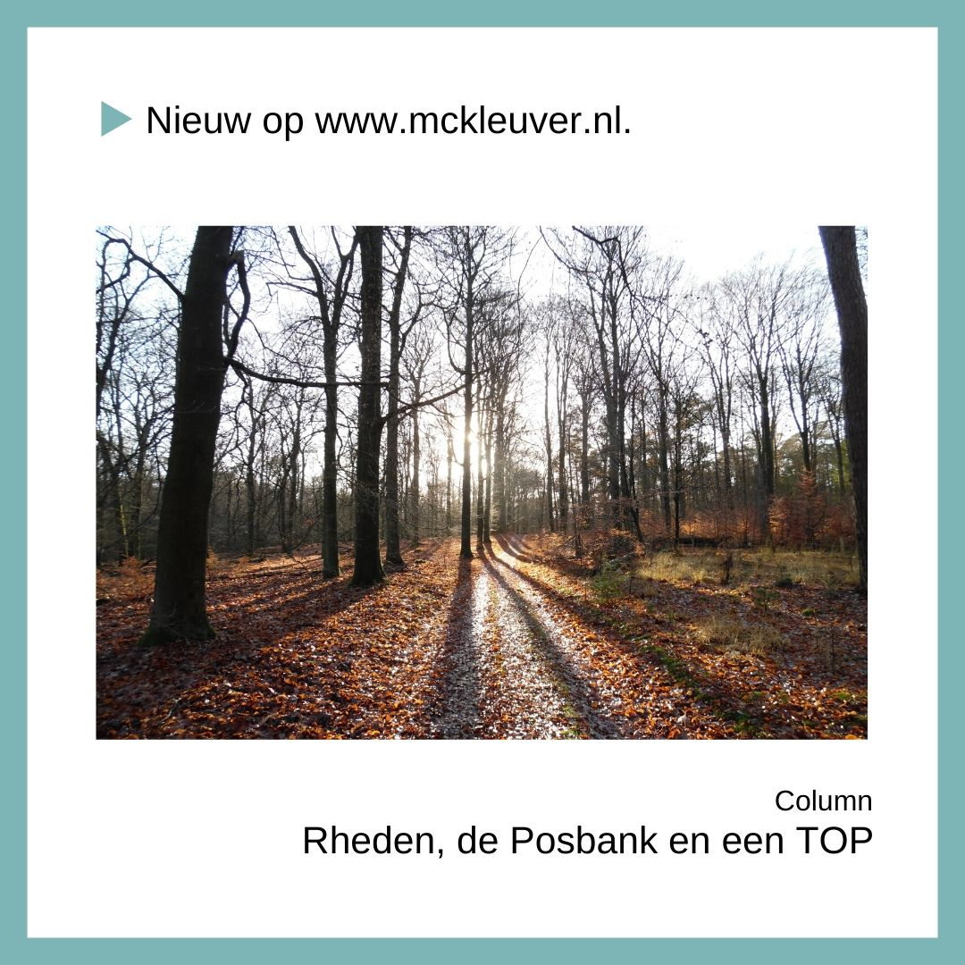 Rheden, de Posbank en een TOP | Column