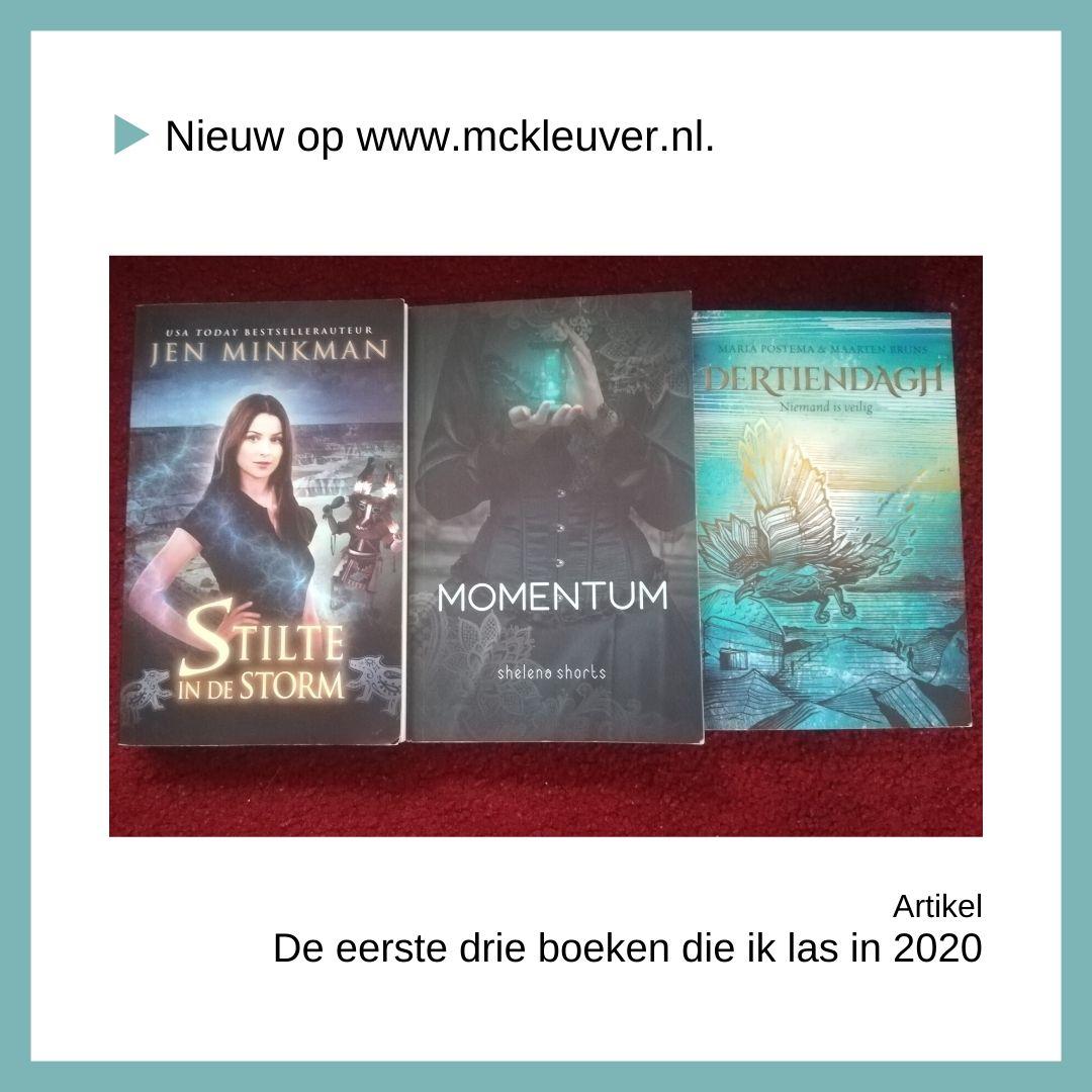 De eerste drie boeken van 2020
