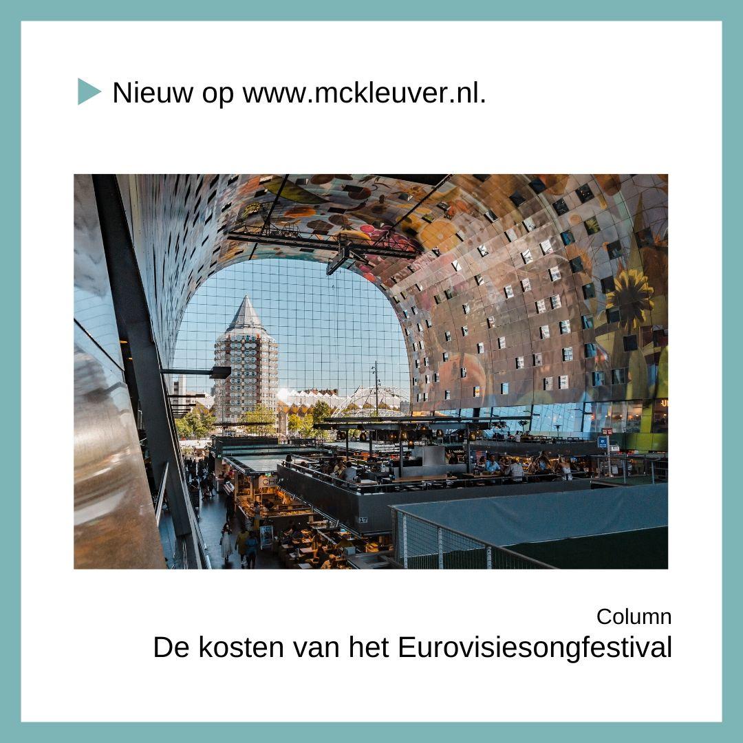 De kosten van het Eurovisiesongfestival