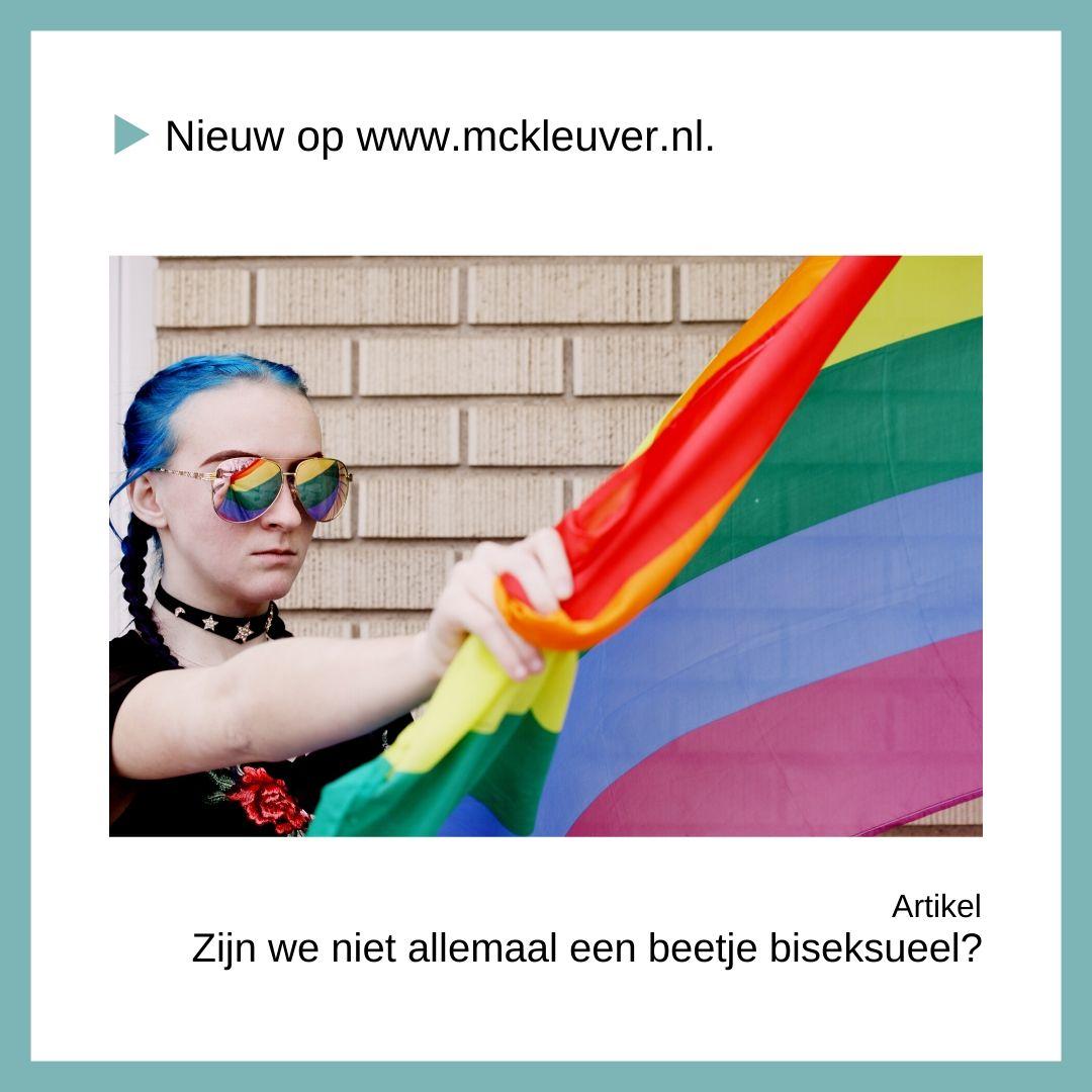 Zijn we niet allemaal een beetje biseksueel