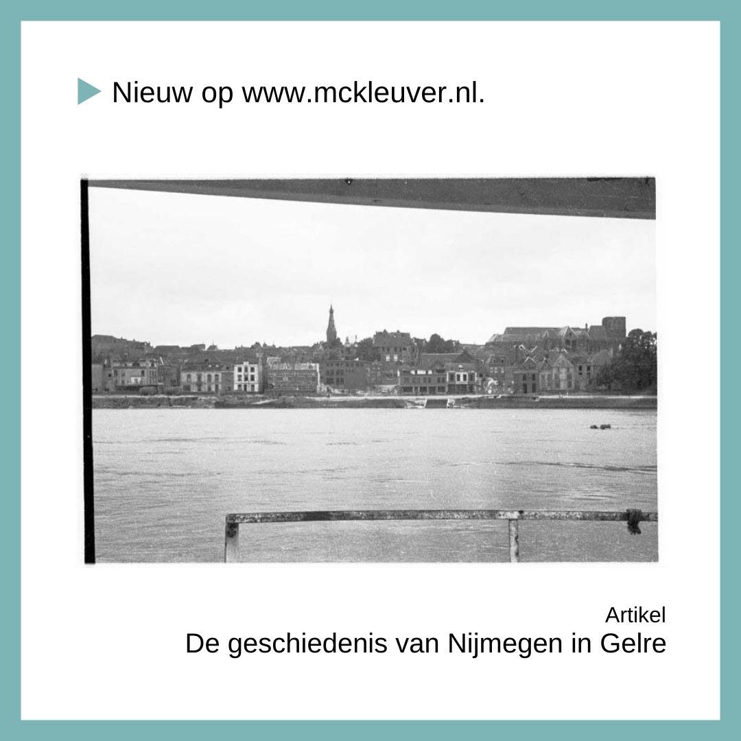 de geschiedenis van Nijmegen