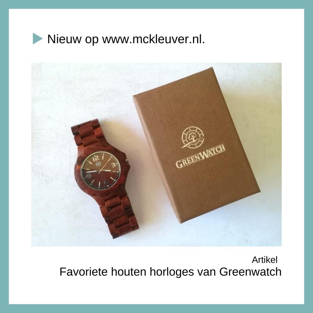 favoriete houten horloges