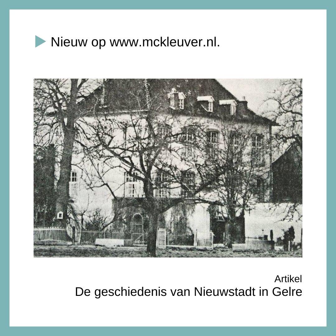 geschiedenis van Nieuwstadt