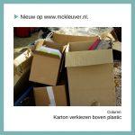 karton verkiezen boven plastic