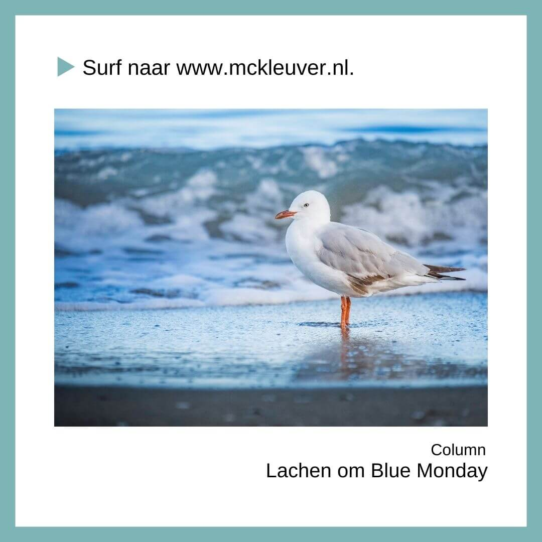 lachen om Blue Monday